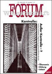 Forum Wissenschaft 1/2008