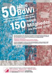 50 Jahre BdWi - 150 neue Mitglieder