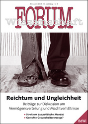 Cover Forum Wissenschaft 2/2016