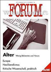 Forum Wissenschaft 4/2005