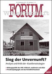 Forum Wissenschaft 3/2016; Foto: Arbeitsstelle Forschungstransfer (Eigenes Werk) CC BY-SA 4.0 via Wikimedia Commons