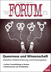 Forum Wissenschaft 3/2018; Foto: Lemon Tree Images / shutterstock.com