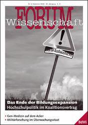 Forum Wissenschaft 4/2009