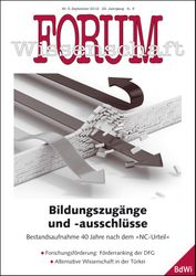 Forum Wissenschaft 3/2012