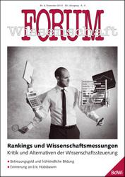 Forum Wissenschaft 4/2012