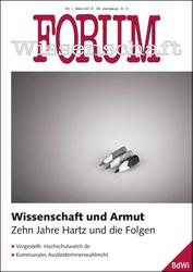 Forum Wissenschaft 1/2013