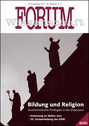 Forum Wissenschaft 3/2013