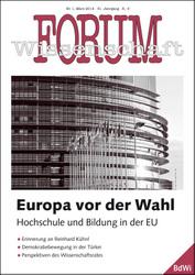 Forum Wissenschaft 1/2014