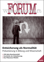 Forum Wissenschaft 3/2015; Foto: Torbz – fotolia.com