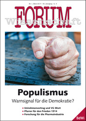 Forum Wissenschaft 1/2017; Ralf Geithe / fotolia.com