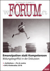 Forum Wissenschaft 4/2018; Foto: Yuganov Konstantin / shutterstock.com