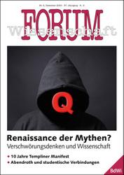 Forum Wissenschaft 4/2020; Foto: Axel Bueckert / shutterstock.com